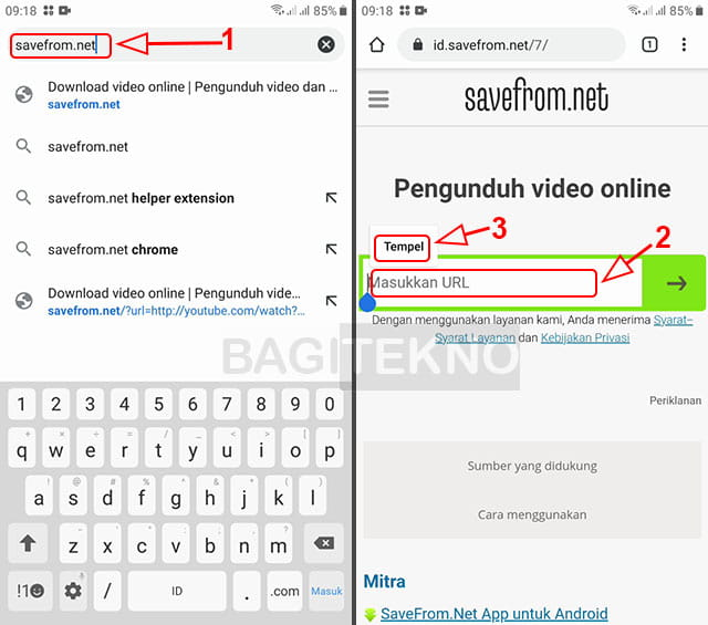 Cara menyimpan video instagram ke galeri HP