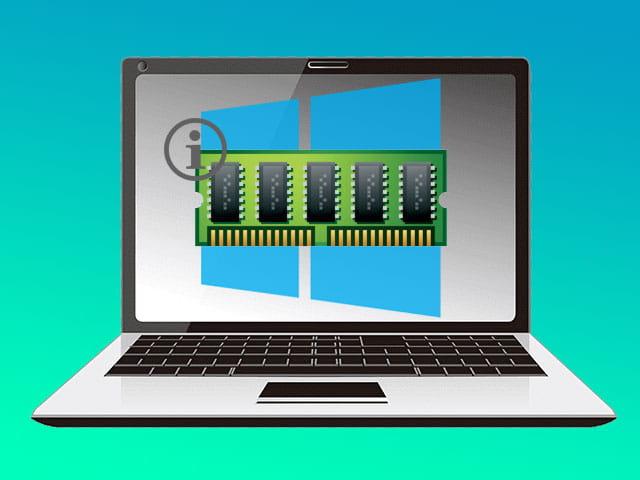 Cara melihat kapasitas RAM di Laptop Windows 10