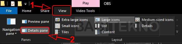 Cara menampilkan details pane Windows