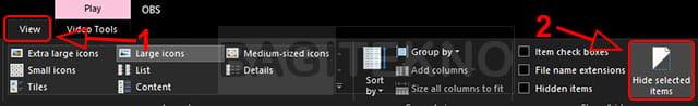 Cara menampilkan checkbox pada masing-masing file