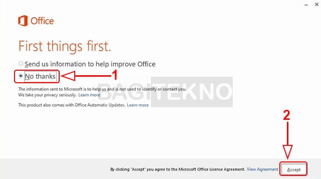 Cara menginstall Microsoft Office 2013 di Windows