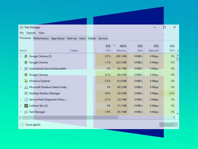 Cara membuka Task Manager di Windows 10, 8.1, 7