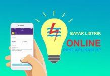 Cara bayar listrik online lewat aplikasi di HP Android