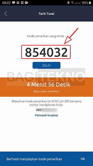 Cara ambil uang tanpa kartu ATM BRI