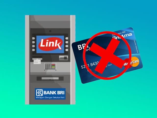 cara mengambil uang tanpa kartu di ATM BRI