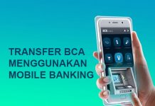 cara transfer lewat m banking bca