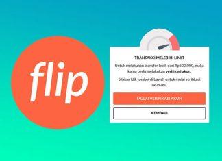 Cara verifikasi identitas akun flip