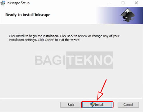 Cara menginstall software Inkscape di Windows