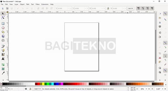 Cara menggunakan software Inkscape
