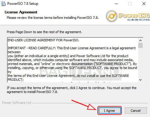 Menginstall Power ISO di Windows 7 8.1 10