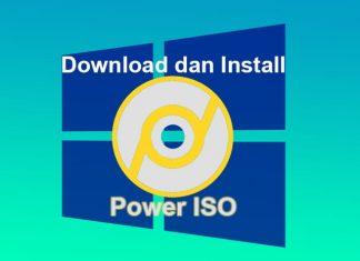 Cara download dan install software Power ISO di Windows