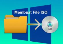 Cara membuat file ISO di Windows 10 8.1 7