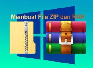 Cara mengubah folder ke RAR atau ZIP di Windows