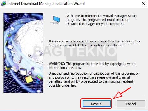 Setup IDM di Windows