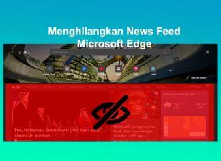 cara menghilangkan berita di microsoft edge