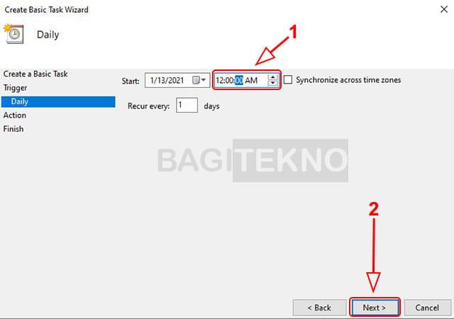 Mematikan Windows otomatis pada jam tertentu
