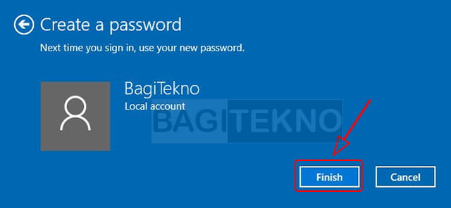 Cara buat password di Laptop Windows 10