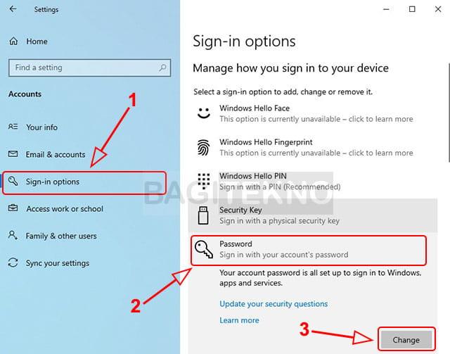 Cara menonaktifkan password di Windows 10