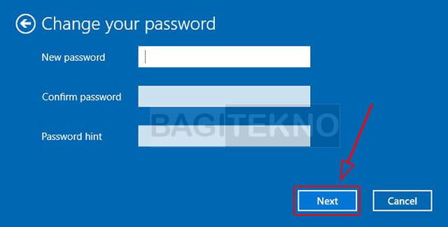 cara menonaktifkan sandi Windows 10 dengan password kosong