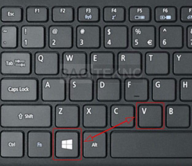 Cara menampilkan rekaman copy Clipboard di Windows 10