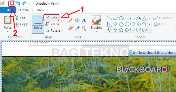 Cara menyimpan gambar hasil screenshot di Windows