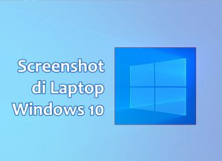 cara mengambil screenshot di laptop windows 10