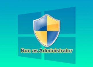 Apa itu perintah Run as Administrator?