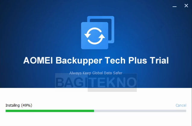 Proses install software cloning hardisk