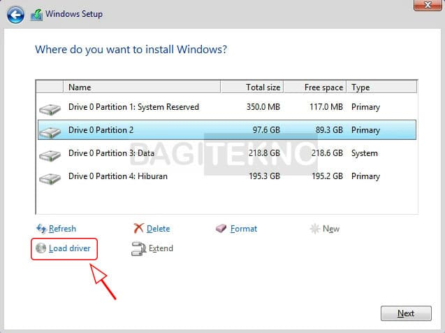 Memuat file di instalan Windows 8.1