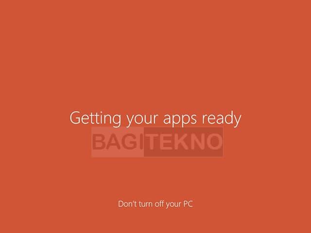 Menyelesaikan konfigurasi dan menginstall aplikasi bawaan Windows 8.1