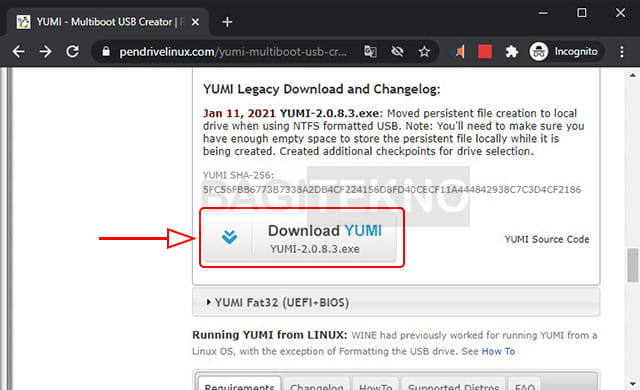 download yumi