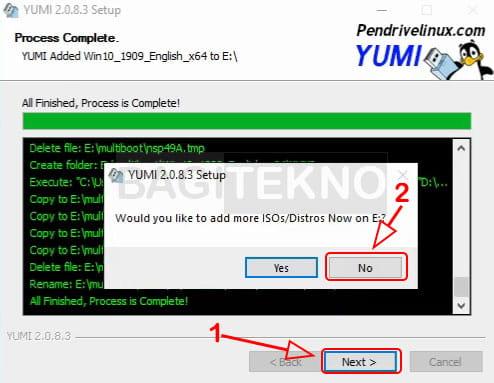 tidak ingin menambahkan file iso lain pada yumi