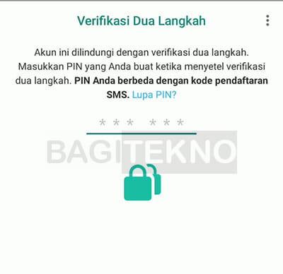 Cara mengamankan akun WhatsApp agar tidak dibajak dengan verifikasi 2 langkah