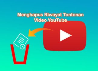 Cara menghapus riwayat tontonan video di YouTube