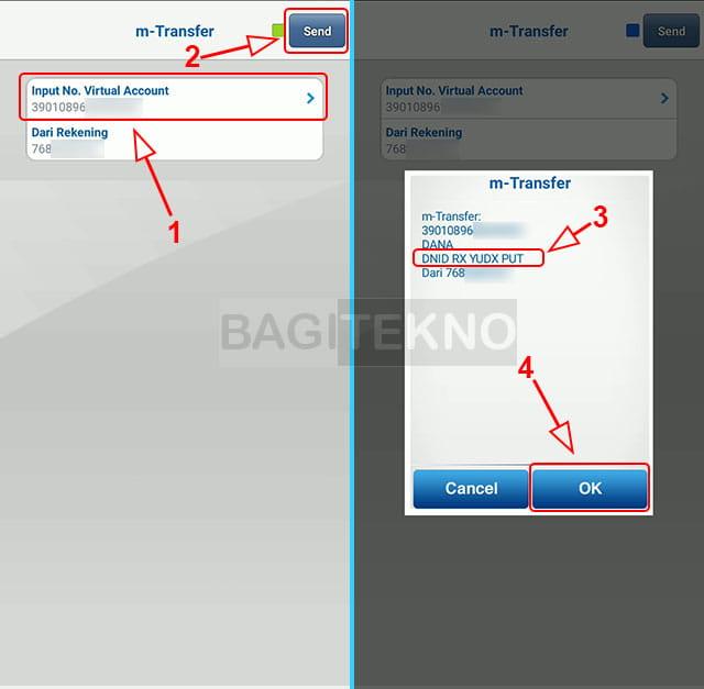 isi ulang saldo dana menggunakan BCA Mobile