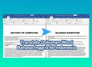 cara translate dokumen word inggris ke indonesia