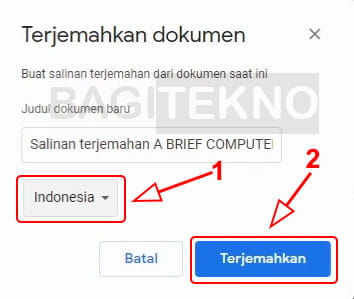 Terjemahkan file PDF ke bahasa Indonesia