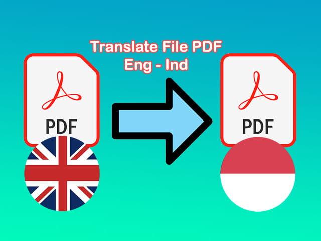 cara translate pdf bahasa inggris ke indonesia
