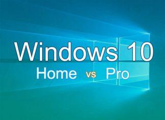 Perbedaan fitur bawaan Windows 10 home dan pro