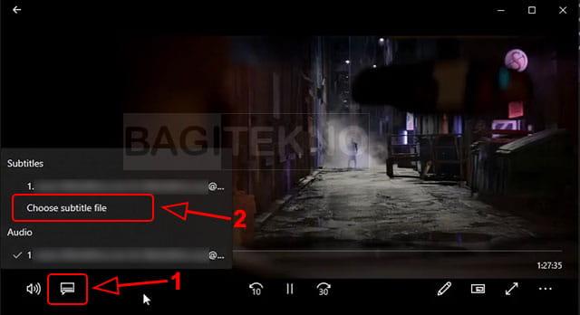 cara menambahkan subtitle di laptop
