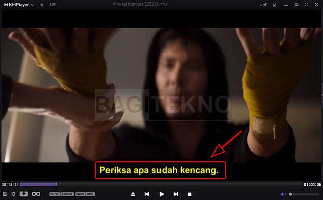 Cara menambahkan subtitle terpisah ke pemutar KMP