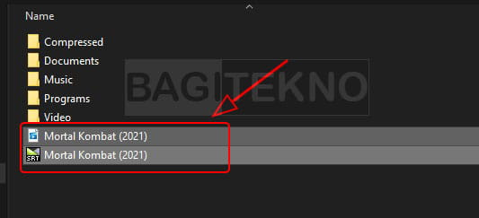 cara menambahkan subtitle secara otomatis saat nonton film di Laptop