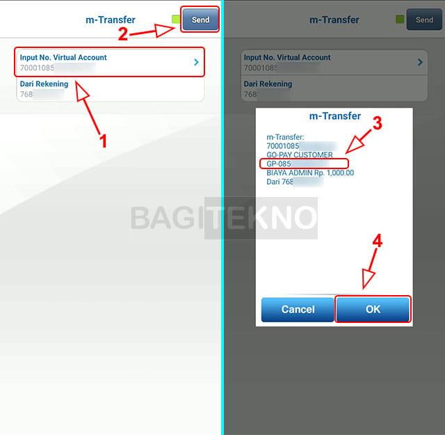 isi ulang saldo GoPay dengan BCA Mobile