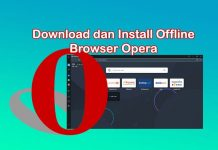 Cara download dan install web browser Opera di Laptop Windows