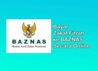 Cara bayar zakat fitrah ke BAZNAS secara online