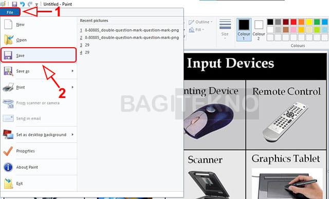 Mengeluarkan gambar dari PDF