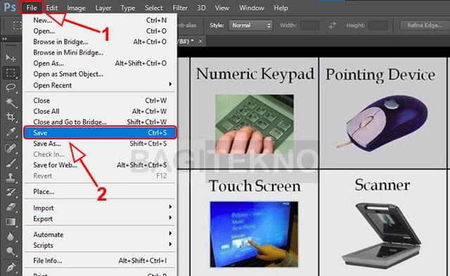 Mengambil gambar dari dalam file PDF dan sisimpan sebagai JPG atau PNG