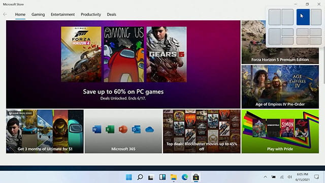 Ada pintasan untuk membagi layar di Windows 11