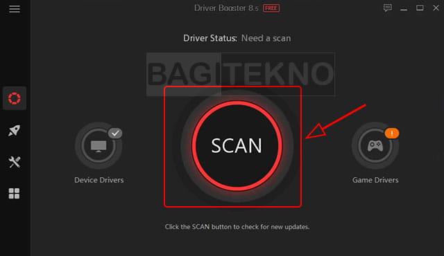 Melakukan scanning driver yang tersedia untuk Laptop Windows