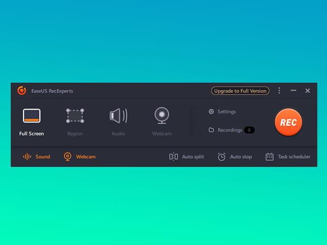 review EaseUS RecExperts screen recorder